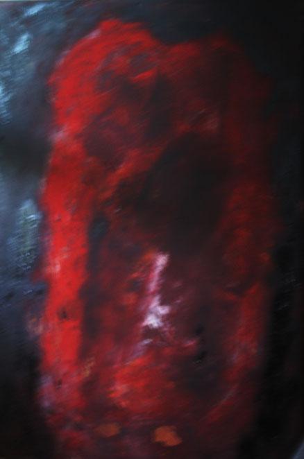 Daredevil, Acryl auf Leinwand, 80x55, 2013