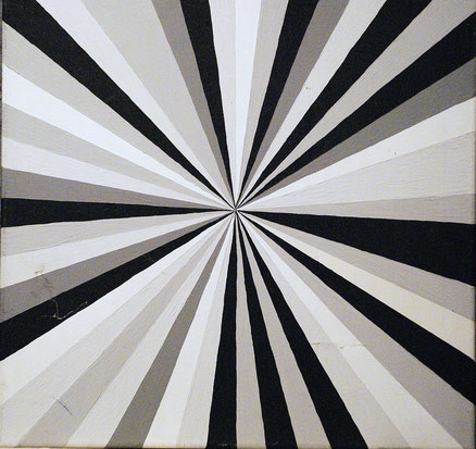 Acryl auf Leinwand, 50x50, 2013 (Fundsache)