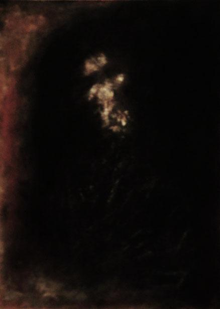 Bacchantin, Acryl auf Holz, 60x40, 2011