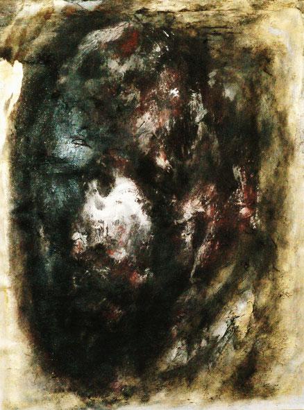Ödipus und die Sphinx 2, Acryl auf Leinwand, 70x50, 2013