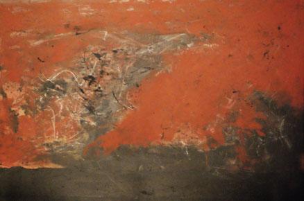 Impressionen von Afrika, Acryl auf Leinwand, 80x120, 2015