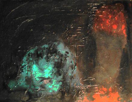 Ecce homo, Acryl auf Leinwand, 48x60, 2017