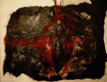 Letzte Lockerung, Acryl auf Leinwand, 80x100, 2015