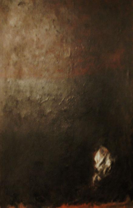Utöya, Acryl auf Leinwand, 100x80, 2014