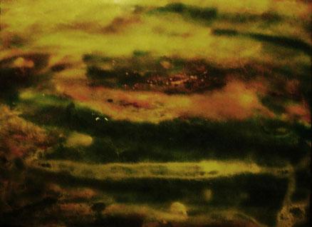 Tlaltecutli, Acryl auf Leinwand, 60x80, 2014