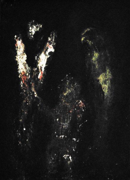 Träume der Kindheit 3, Acryl auf Hartfaser, 50x50, 2014