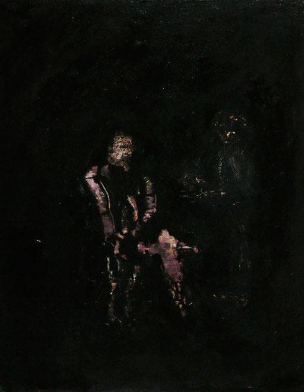 Through the past darkly, Acryl auf Hartfaser, 50x40, 2013