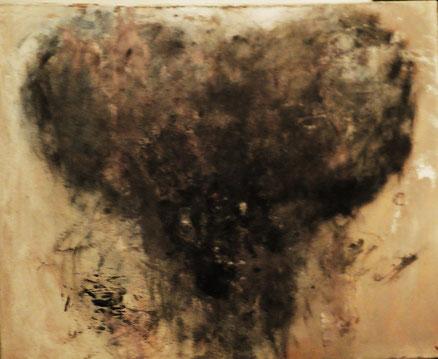 Bete noire, Acryl auf Leinwand, 60x80, 2014