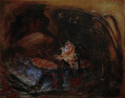 Bacubin, Öl auf Leinwand, 40x50, 2011