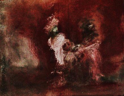 Ancien Regime, Acryl auf Leinwand, 40x50, 2012