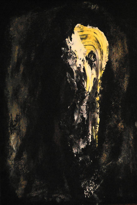 Potemkin, Acryl auf Karton, 48x38, 2014