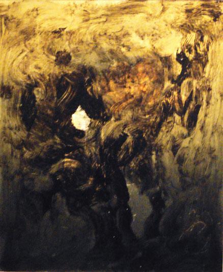 Ginnistan, Acryl auf Hartfaser, 60x50, 2017