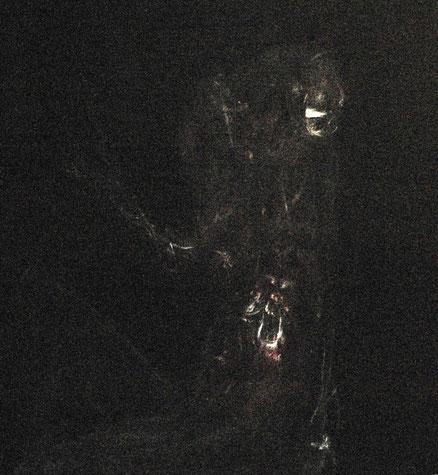 Ecce, Acryl auf Leinwand,90x90, 2012