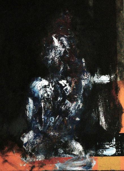 Bacon for the poor, Acryl auf Leinwand, 80x60, 2013
