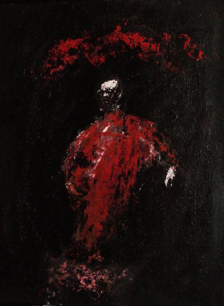 Rachegeist, Acryl auf Hartfaser, 80x60, 2015
