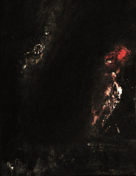 Acheron, Acryl auf Karton, 50x40, 2015