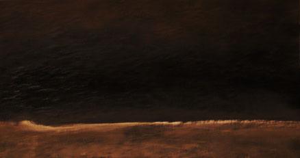Nachtstück, Acryl auf Hartfaser, 40x60, 2018