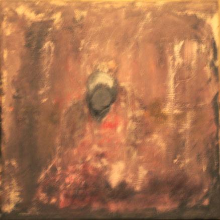 Desir noir, Acryl auf Leinwand, 83x83, 2017