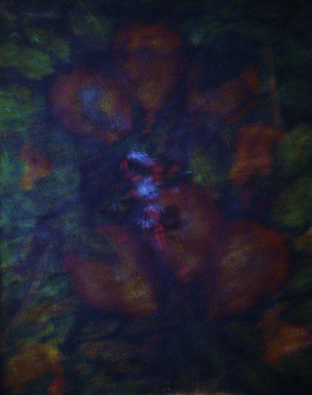 Totemistisches Stilleben, Acryl auf Hartfaser, 40x50, 2016