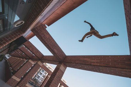 Move Parkour Minimalist Biohacker
