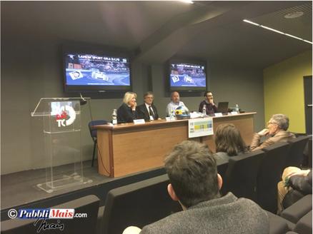 La conferenza al Museo dell' Automobile di Torino
