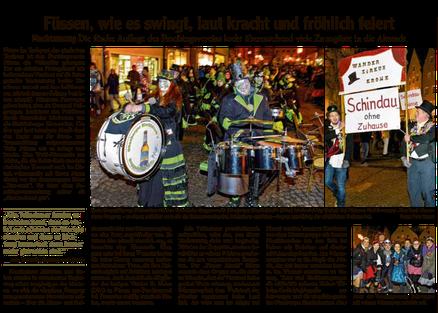Was der Faschingsverein Füssen am Rußigen Freitag allein auf die Beine gestellt hat . www.faschingsverein-fuessen.com