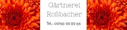 Gärtnerei Roßbacher, Parner von Restaurant Touché