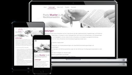 Paola Müller LL.M. ist Kundin der Web-Manu-Faktur München