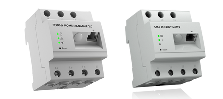Sma zubehöhr Sunny Home Manager Energy Meter Funksteckdosen