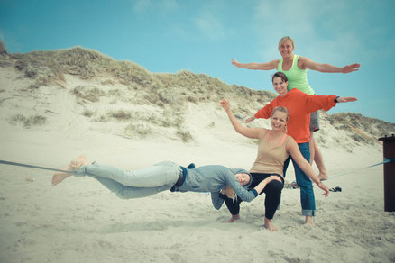 Spaß mit Waterlovegirl und Ozone bei den Kite & Karma Trips