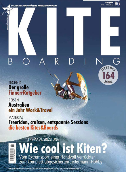 Kiteboarding.de 96 Cover