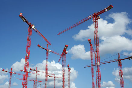 Kranverleih für Baukrane in NRW