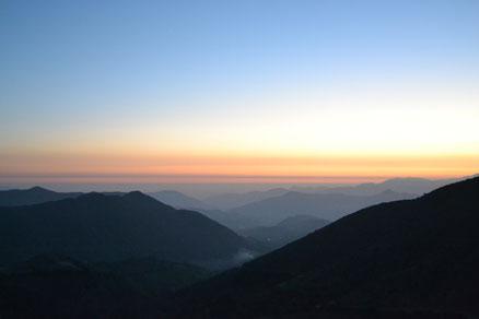 Vistas desde las montañas