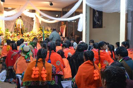 En la iglesia de San Bernardo
