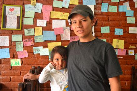 Javier y su hija