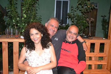 Vilma, Héctor y Gastón
