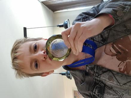 Bronzen medaille met EK dames biljarten