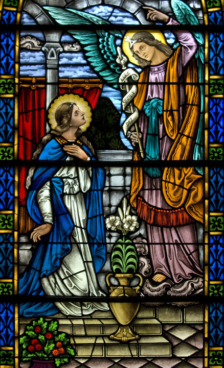 Ankündigung der Geburt Jesu durch den Engel Gabriel