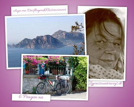 6 Fragen an  Anja von DasfliegendeKlassenzimmer.org