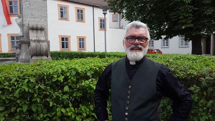Militärdekan Alfons Hutter, Foto: Bernhard Löhlein