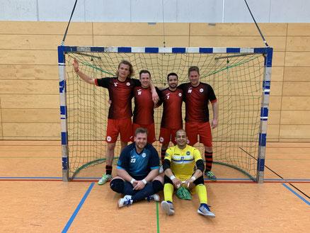 Feldspieler: Finn Niehues, Michael Wehling, Majid Khadim, Dennis Rudat; Torhüter: Pierre Müller, Ahmad Nasiri