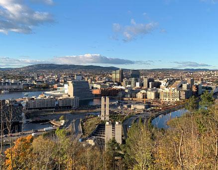 Oslo - Frankas neue Heimat für ein Jahr