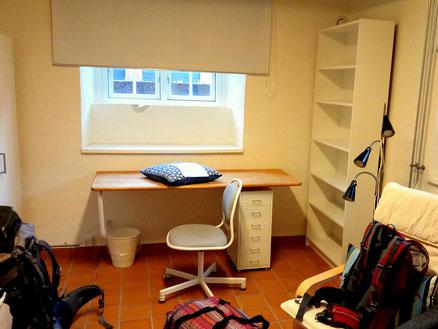 Dieses Zimmer ist Hedwigs neues Zuhause