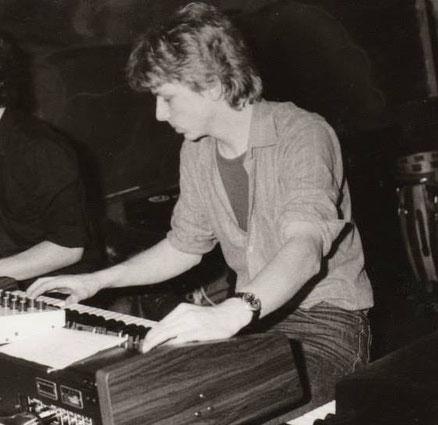 """Auftritt mit der Band """"Schlicht `n`Einfach"""" in Konstanz 1982"""