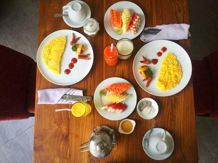 Bestes Frühstück in Ubud, Bali.