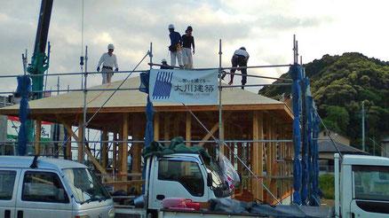 大川建築の家づくりのイメージ画像