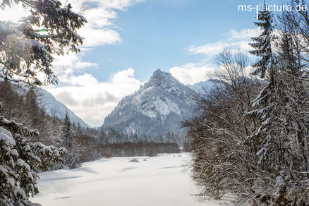 Winterlandschaft in Ruhpolding