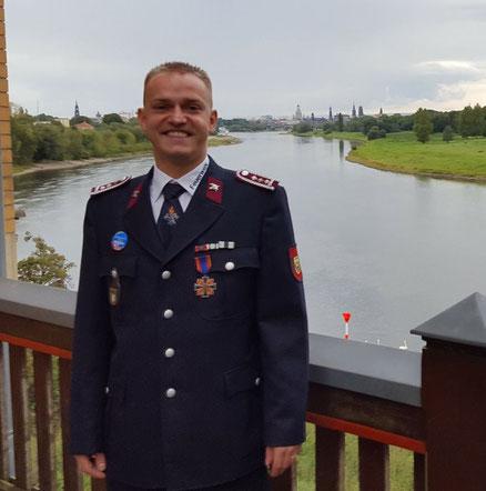 Feuerwehrmann Tommy Schmidt
