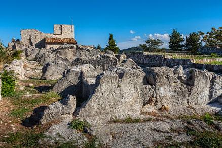 Gessopalena, l'antica cava di gesso. Provincia di Chieti.