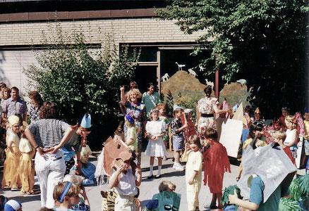 Kita-Sommerfest 1991 // Foto: KiFaZ